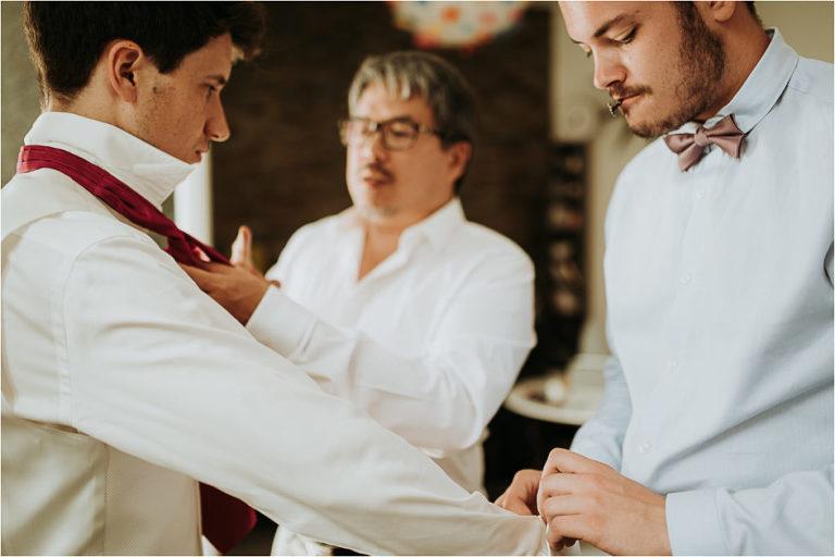 préparatif du marié